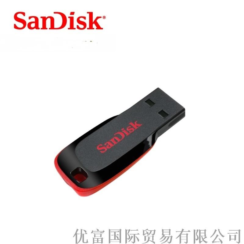 闪迪8G黑色U盘 USB2.0U盘 CZ50U盘