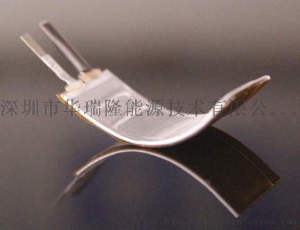 穿戴设备201030-43mah弯曲聚合物锂电池