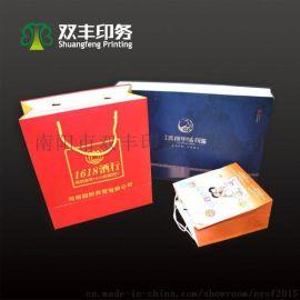 纸类手提袋定制白卡纸袋烫金牛皮纸袋印刷