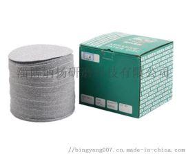厂家直供日本理研圆盘砂纸 5寸植绒拉绒砂纸片