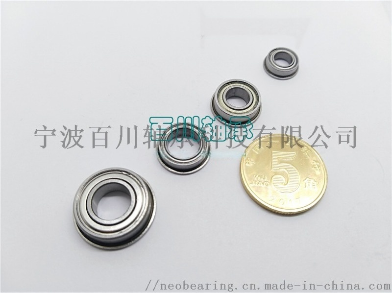 SF692ZZ 特微型不锈钢法兰轴承 配套参数