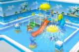 水上樂園設備水寨水屋水上滑梯戲水小品廠家直銷定做