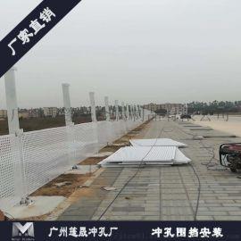 珠海孔板围挡新型围栏工地围挡