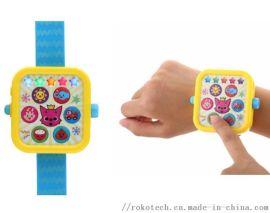 智慧炫酷投影手表儿童亲子互动早教玩具
