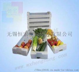 无锡恒宏塑胶生产供应PP环保塑料水果箱