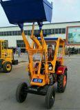 旭阳轮式液压小铲车建筑工程装载机小铲车抓木机