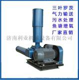 济南利业三叶罗茨风机水产养殖风机增氧机