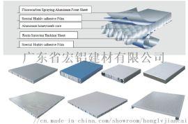 宏铝建材生产 铝蜂窝复合板 隔离铝板 隔音铝板