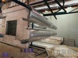 欢迎来图定制木纹色铝单板 弧形包柱铝单板