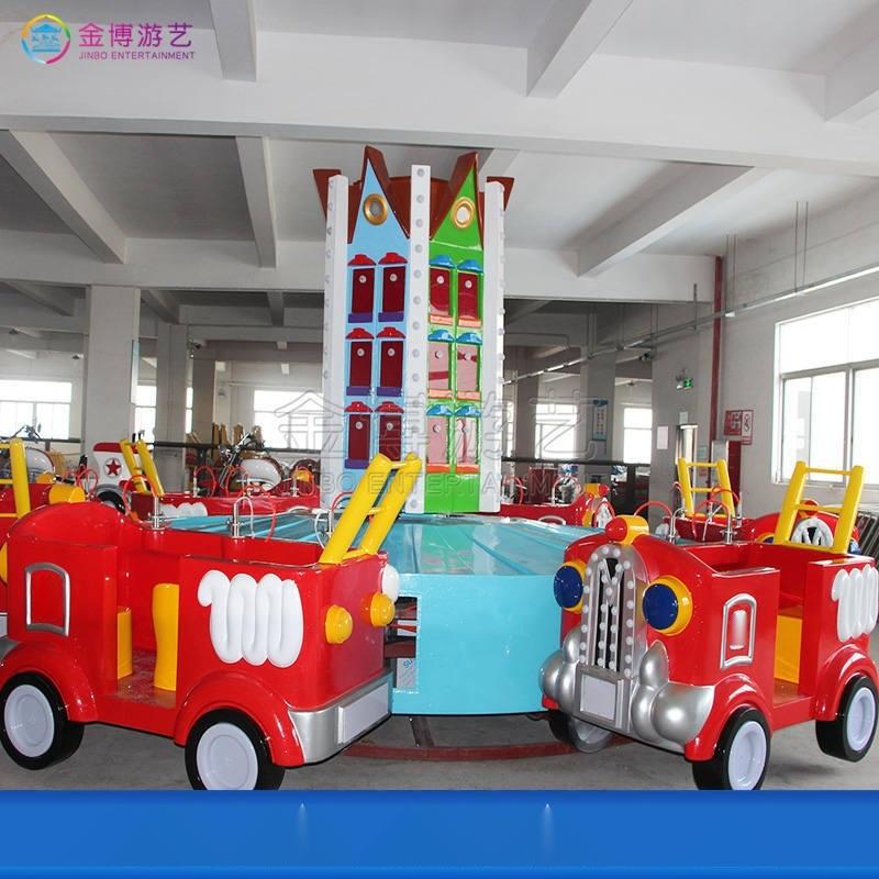 儿童乐园12座消防战车设施,新型中小型游乐设备厂家
