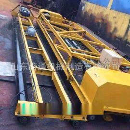 混凝土摊铺机大型桥梁整平机制造安全环保水泥摊铺机