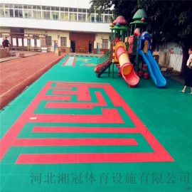 朔州市球場圍網懸浮地板大同拼裝地板