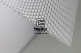 旺苍县、青川县9mm透明新日阳光板