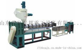 双阶双螺杆造粒机 再生塑料造粒机 环保挤出造粒机