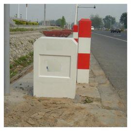 高壓危險警示牌 永安玻璃鋼鐵路線路標志樁