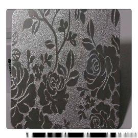 不锈钢镜面花纹板 镜面冲压花纹不锈钢板