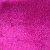 粉色短狐,化纖面料,針織,毛絨布面料,假毛