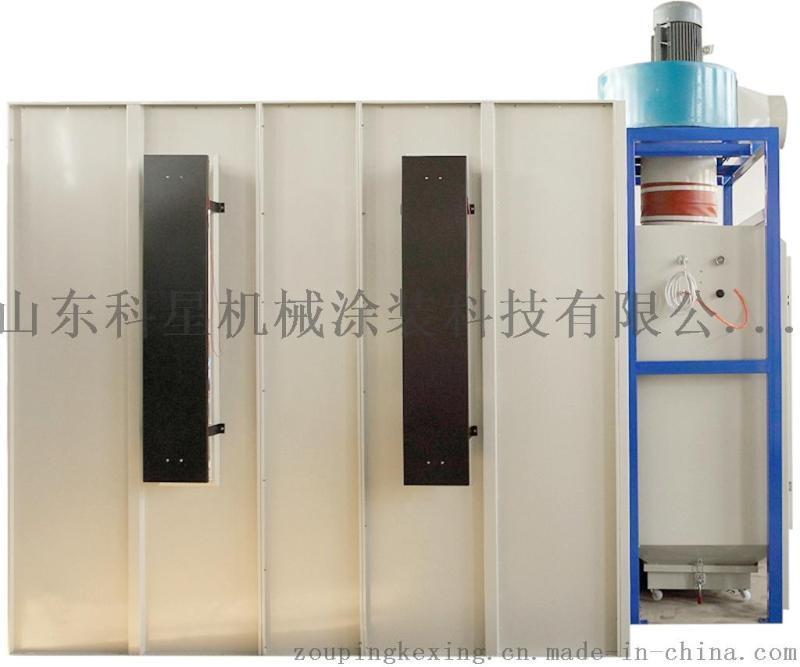 小旋風粉末回收噴粉房,批發 單/雙工位噴粉房,靜電噴塗設備
