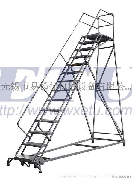 ETU易梯优|美式登高梯|重型钢梯|工业梯|安全爬梯 自锁刹车更好用