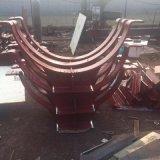 新品上市優質管夾管託 三孔扁鋼管夾廠家