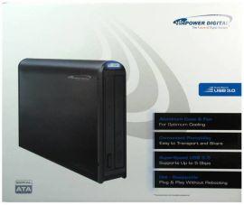 美国Vinpower伟宝 5.25台式DVD/蓝光刻录机 USB3.0外置光驱盒