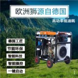 8KW靜音柴油發電機越野車