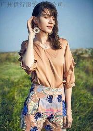 杭州專櫃絲雨桐折扣女裝網上哪有品牌一手貨源