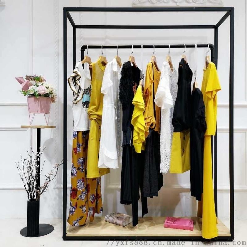 衣香丽影女装她衣柜为什么那么便宜女装尾货棉裤曼天雨品牌折扣店女装