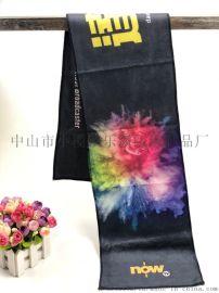 厂家订制超细i纤维数码印花运动巾球迷打气巾