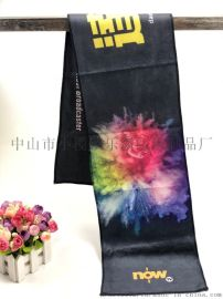 廠家訂制超細i纖維數碼印花運動巾球迷打氣巾