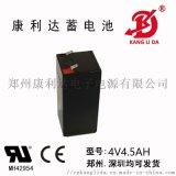 康利达4V4.5AH应急灯专用铅酸蓄电池