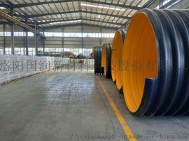 钢带增强塑料排水管厂家现货供应