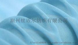 全真丝雪纺面料真丝围巾服装用面料