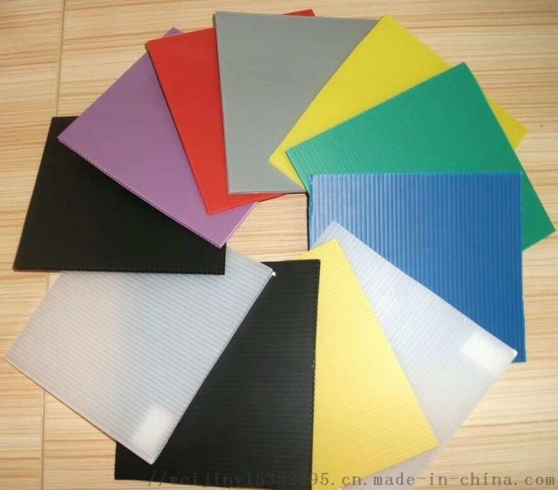 塑料PP中空电缆保护板 中空板片材