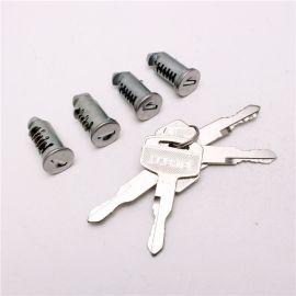 鎖芯 SUV汽車車載行李架橫杆鎖芯 4個鑰匙配4個鎖芯