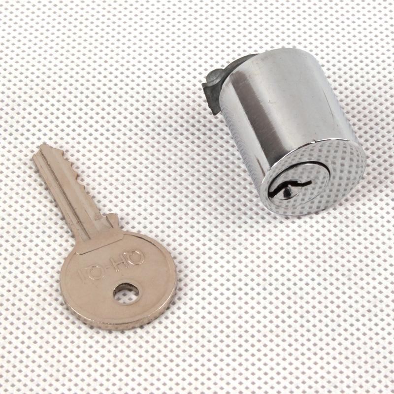 銅鎖芯 工業機械設備網路機櫃鎖頭 通開鐵皮櫃電箱門鎖芯