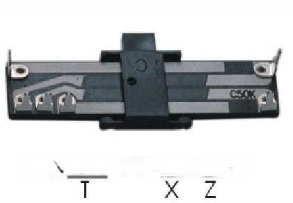 直滑式电位器(N205G-D)