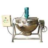 夹层锅带不锈钢盖煮山茶油鸭 货源直销 电加热蒸煮两用夹层锅