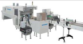 半托成型全自动热收缩包装机 PE膜热收缩包装机