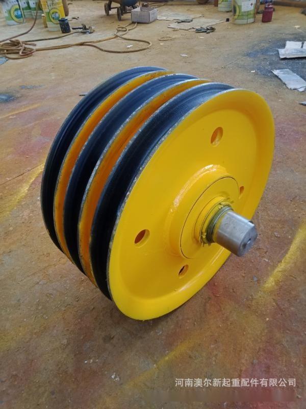 5t铸钢滑轮组价钱 龙门吊天车滑轮组 钢丝绳滑轮组