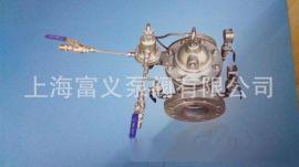 供应上海冠龙牌 全铜可调试减压阀 200X铸钢可调试减压阀