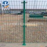 批发高速公路双边丝护栏网 圈地果园隔离防护网铁丝双边丝围栏网