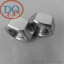 304不锈钢外六角厚螺母/丝 厚六角 GB6170 M/m5 m6 m8 -m39