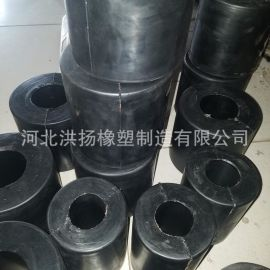 矿山机械用橡胶减震器 橡胶减震垫块 橡胶减震柱