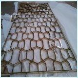 不鏽鋼屏風廠 酒店歐式屏風來圖定製 香檳金屏風批發銷售廠家
