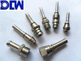 不锈钢304高压胶管接头 液压三件套 20411总成