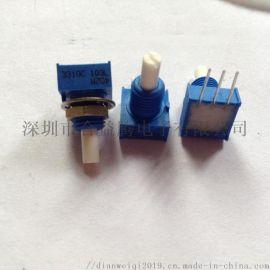 3310Y-104L导电塑料电位器