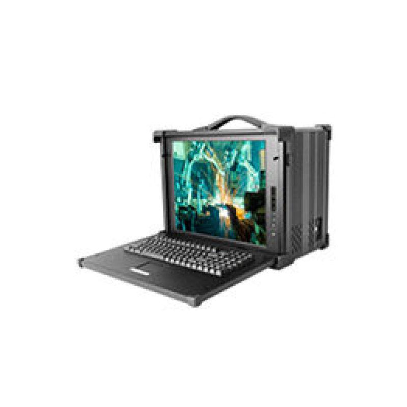 17寸CPCI8槽6U工业级便携式加固计算机