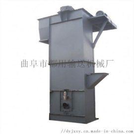 石灰粉钢斗板链提升机 循环式瓦斗上料机qc