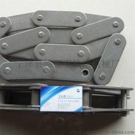双节距304不锈钢2寸链条  C2082 节距50.8 滚子28.58